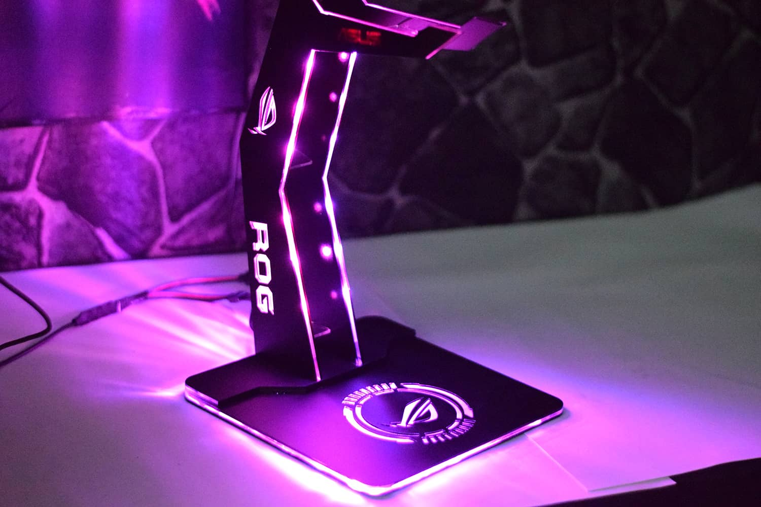 Custom Headphone Stand Rgb Raptor Mods Pakistan
