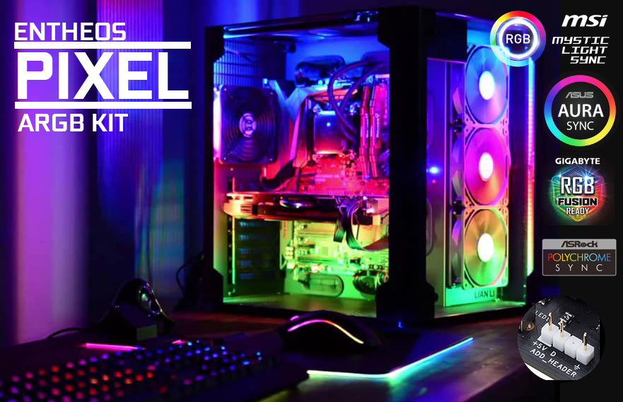 Entheos Pixel PC RGB Kit